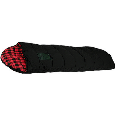Frontier 6 Sleeping Bag -15C Black/Plaid Lining