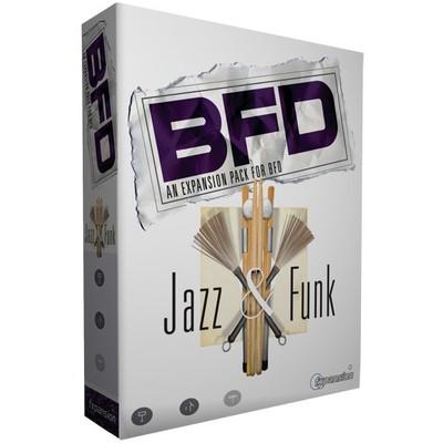 Software Fxpansion Jazz&Funk Drum Kits - FXpansion - JAZZ&FUNK