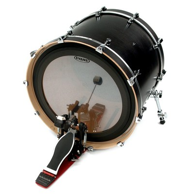 "Evans BD24EMAD2 24"" EMAD2 Clear Bass Drumhead - Evans - BD24EMAD2"