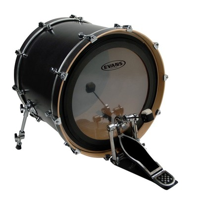 "Evans BD22EMAD 22"" EMAD Clear Bass Drumhead - Evans - BD22EMAD"