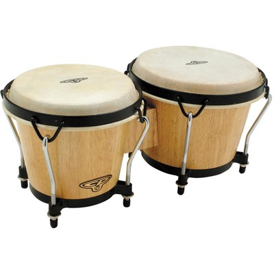 Cosmic Percussion CP221-AW Traditional Bongos - Natural Wood - Cosmic Percussion - CP221-AW_67644