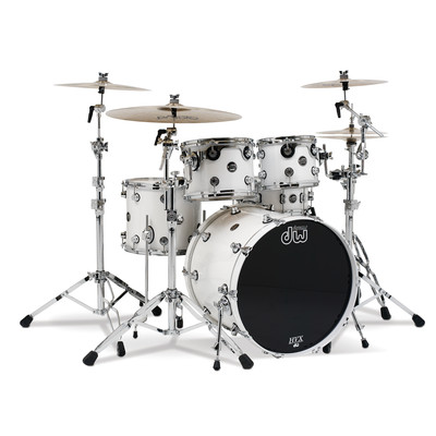 DW Performance Series Shell Pack - 10/12/14/5.5x14 - White Ice - DW - DRPLTMPK04WH