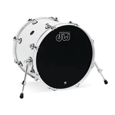 "DW Performance Series Bass Drum - 16""x20"" - White Ice - DW - DRPL1620KKWH"