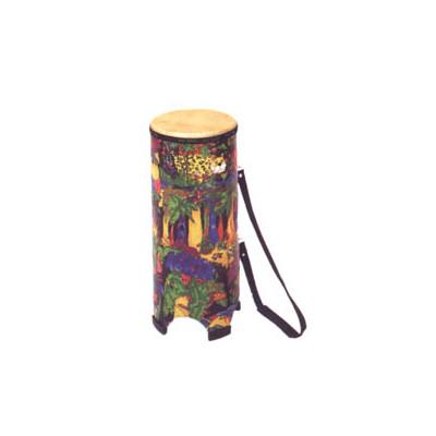 """Remo Kids Percussion Tubano Drum - Fabric Rain Forest, 10"""" - Remo - KD-0010-01"""
