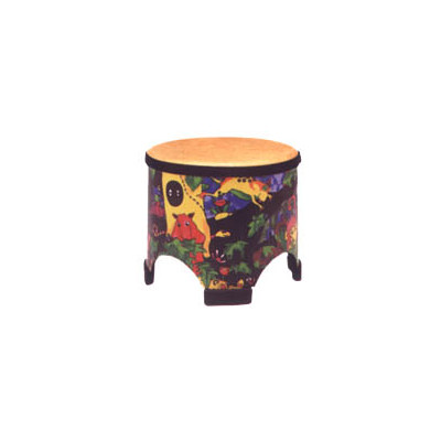 "Remo Kids Percussion Floor Tom Drum - Fabric Rain Forest, 10"" - Remo - KD-5080-01"