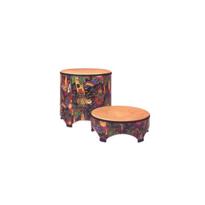 "Remo Kids Percussion Gathering Drum - Fabric Rain Forest, 22"" - Remo - KD-5822-01"