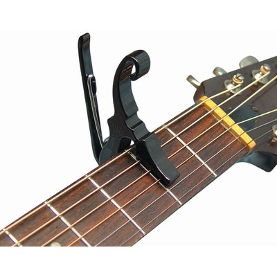 Capo Guitar Acoustic  Kyser KG3B Black Shortcut - Kyser - KG3BA