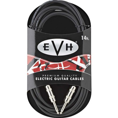 EVH Premium Guitar Cable - 14', Straight to Straight - EVH - 022-0140-000