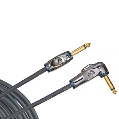 Planet Waves Circuit Breaker Instrument Cable - Right Angle - 20' - Planet Waves - PW-AGRA-20