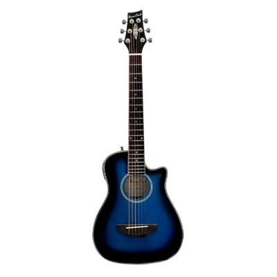 BeaverCreek BCRB501CEBB Travel Size Acoustic-Electric Guitar - Blueburst - BeaverCreek Guitars - BCRB501CEBB