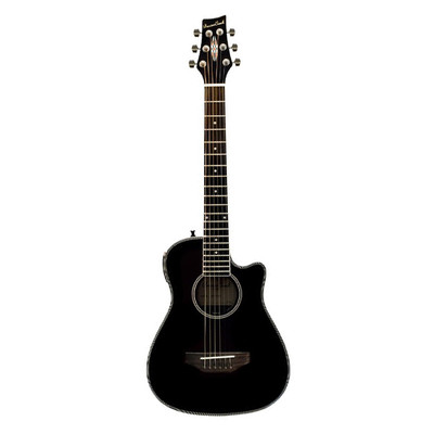 BeaverCreek BCRB501CEBK Travel Size Acoustic-Electric Guitar - Natural - BeaverCreek Guitars - BCRB501CEBK
