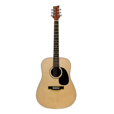 BeaverCreek BCTD101 Dreadnought Acoustic Guitar - Natural - BeaverCreek Guitars - BCTD101
