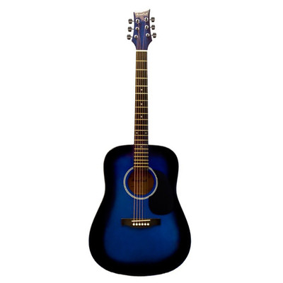 BeaverCreek BCTD101BB Dreadnought Acoustic Guitar - Blueburst - BeaverCreek Guitars - BCTD101BB