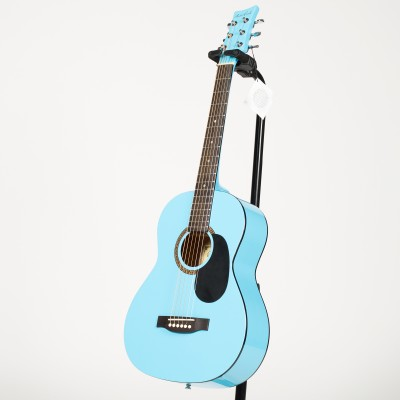 BeaverCreek BCTD601PBL 3/4 Size Acoustic Guitar - Light Blue - BeaverCreek Guitars - BCTD601PBL