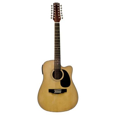 BeaverCreek BCTV05CEQ Acoustic-Electric 12-String Guitar - Natural - BeaverCreek Guitars - BCTV05CE