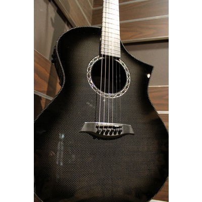 Composite Acoustics The GX Narrow Neck Acoustic-Electric Guitar - Carbon Burst - Composite Acoustic - 03012450