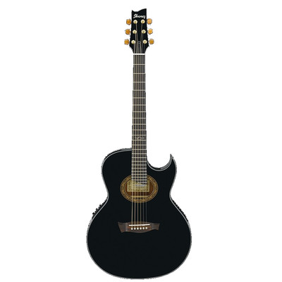 Ibanez EP5 Acoustic Guitar - Black Pearl High Gloss - Ibanez - EP5-BP