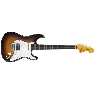 Squier Vintage Modified Stratocaster HSS - Black, Rosewood Fingerboard - Squier - 030-1215-506