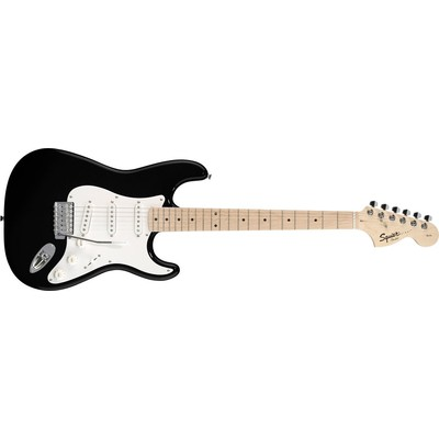 Squier Affinity Series Stratocaster - Black, Maple Fingerboard - Squier - 031-0602-506
