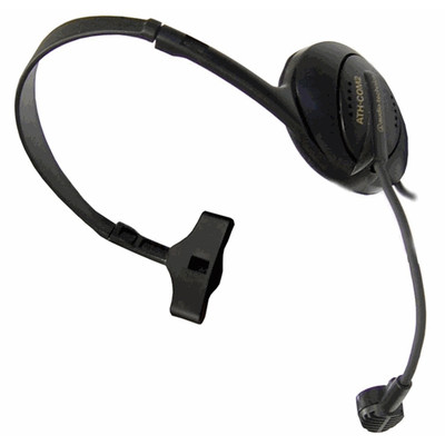 Audio-Technica ATH-COM2 Stereophone/Dynamic Boom Microphone Combination Headset - Audio-Technica - ATHCOM2 (042005201808)