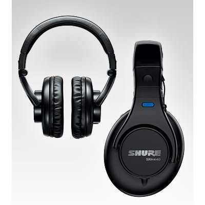 Headphones Shure SRH440 Studio Closed Back - Shure - SRH440 (042406168601)