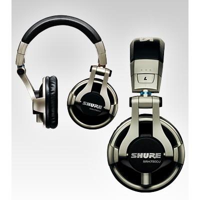 Headphones Shure SRH750DJ DJ Headphone - Shure - SRH750DJ (042406171595)