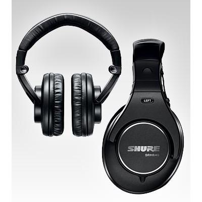 Headphones Shure SRH840 Studio Closed Back - Shure - SRH840 (042406168625)