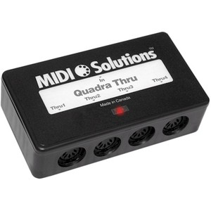 Interface Midi Solutions Quadra Thru - Midi Solutions - QUADRA THRU