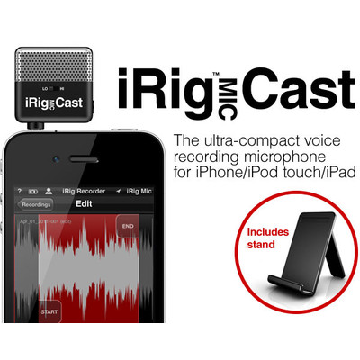 IK Multimedia iRig Mic Cast - IK Multimedia - IP-IRIG-CAST-IN