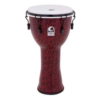"""Toca Freestyle II Mechanically Tuned Djembe - Red Mask, 10"""" - Toca - TF2DM-10RM"""