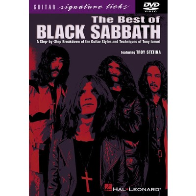 DVD Guitar Signature Licks Best of Black Sabbath (GD)