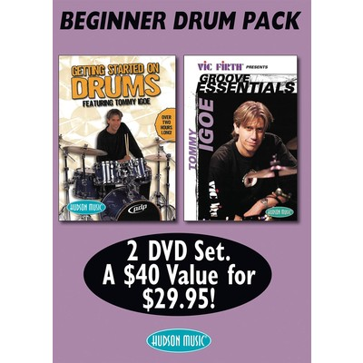DVD Tommy Igoe Beginner Drum DVD Pack (DD)