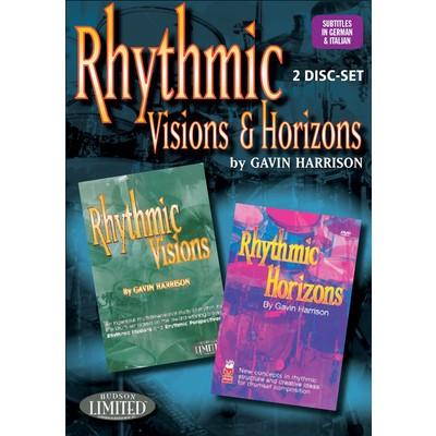 DVD Rhythmic Visions & Rhythmic Horizons (Harrison, Gavin) (