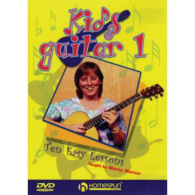 DVD Kids Guitar 1 (Homespun) (GD)