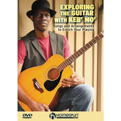 Exploring the Guitar with Keb' Mo' (DVD with TAB) - Hal Leonard - 00642030