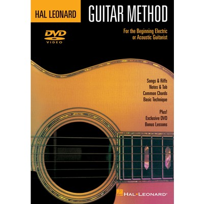 Hal Leonard Guitar Method Book 1 (DVD)