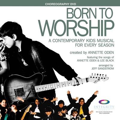 DVD Born to Worship - Contemporary Kids