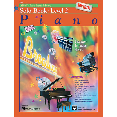 Alfred's Basic Piano Course: Top Hits! Solo Book 2 - Alfred Music - 00-16497