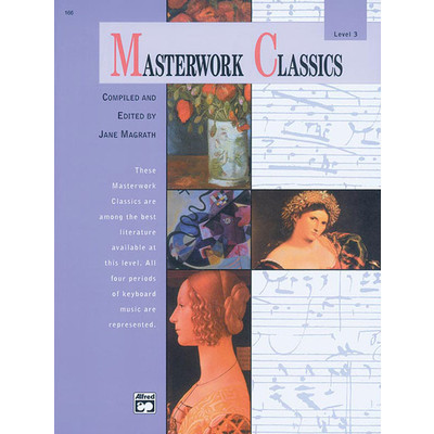 Masterwork Classics, Level 3 (Book & CD) - Alfred Music - 00-166