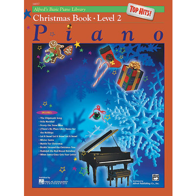 Alfred's Basic Piano Course: Top Hits! Christmas Book 2 - Alfred Music - 00-16937