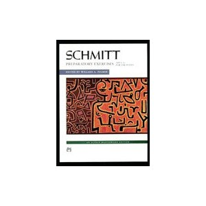 Music Schmitt Preparatory Exercises Op.16 (PA) - Alfred Music - 00-1709