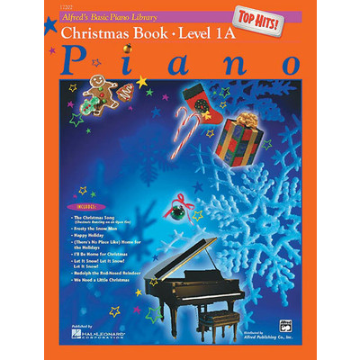 Alfred's Basic Piano Course: Top Hits! Christmas Book 1A - Alfred Music - 00-17202