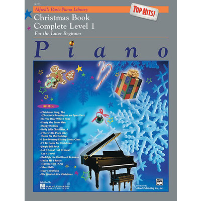 Alfred's Basic Piano Course: Top Hits! Christmas Book Complete 1 (1A/1B) - Alfred Music - 00-17203