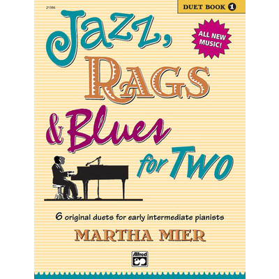 Music Jazz Rags & Blues for 2 Bk1 (1P4H) - Alfred Music - 00-21386