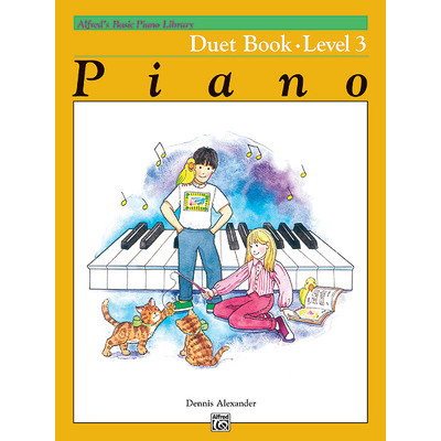Alfred's Basic Piano Course: Duet Book 3 - Alfred Music - 00-2234