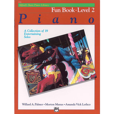 Alfred's Basic Piano Course: Fun Book 2 - Alfred Music - 00-2392