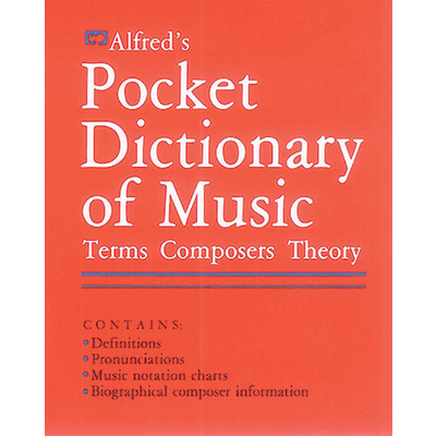 Music Pocket Dictionary of Music - Alfred Music - 00-2400