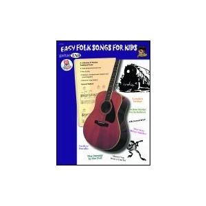 Music Easy Folk Songs for Kids w/CD (TAB) - Alfred Music - 07-1061