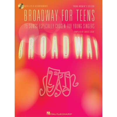 Music Broadway for Teens - Young Womens Ed w/CD