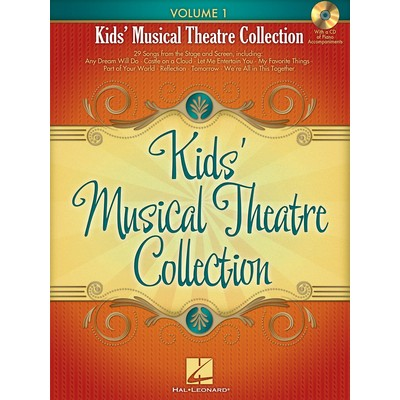 Music Kids Musical Theatre Collection Vol.1 w/CD